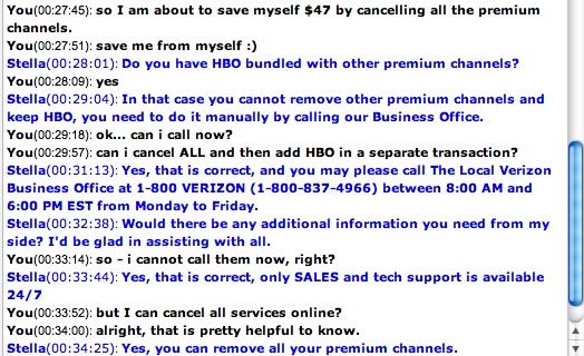 UX as Customer Service – Verizon Model   Surplus words